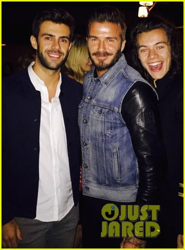 Harry Styles Parties With Kendall Jenner Friends At 21st Birthday Bash Photos Photo 3294113 Alexa Chung Cara Delevingne David Beckham Harry Styles Kelly Osbourne Kendall Jenner Nadine Leopold One Direction