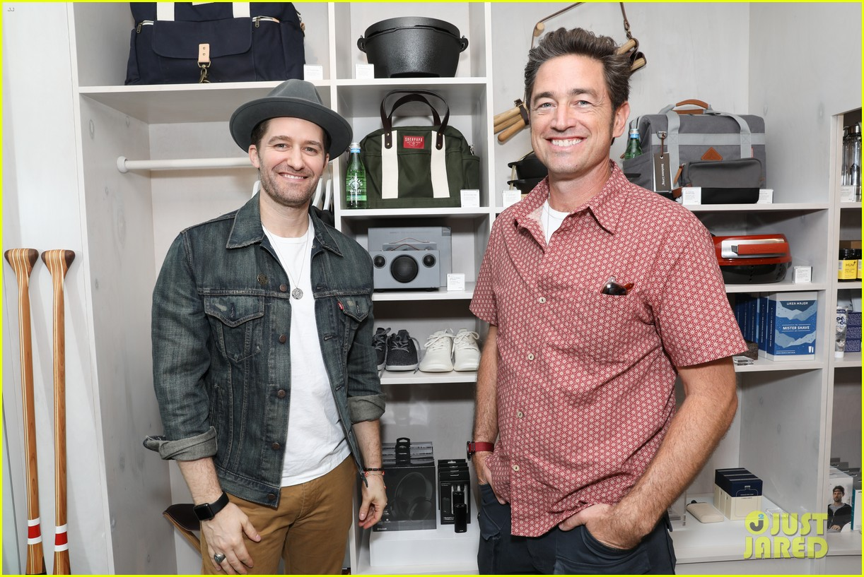 Matthew Morrison On His Baby Boy Revel James Makai He S Teaching Me So Much Photo 3997283 Matthew Morrison Pictures Just Jared