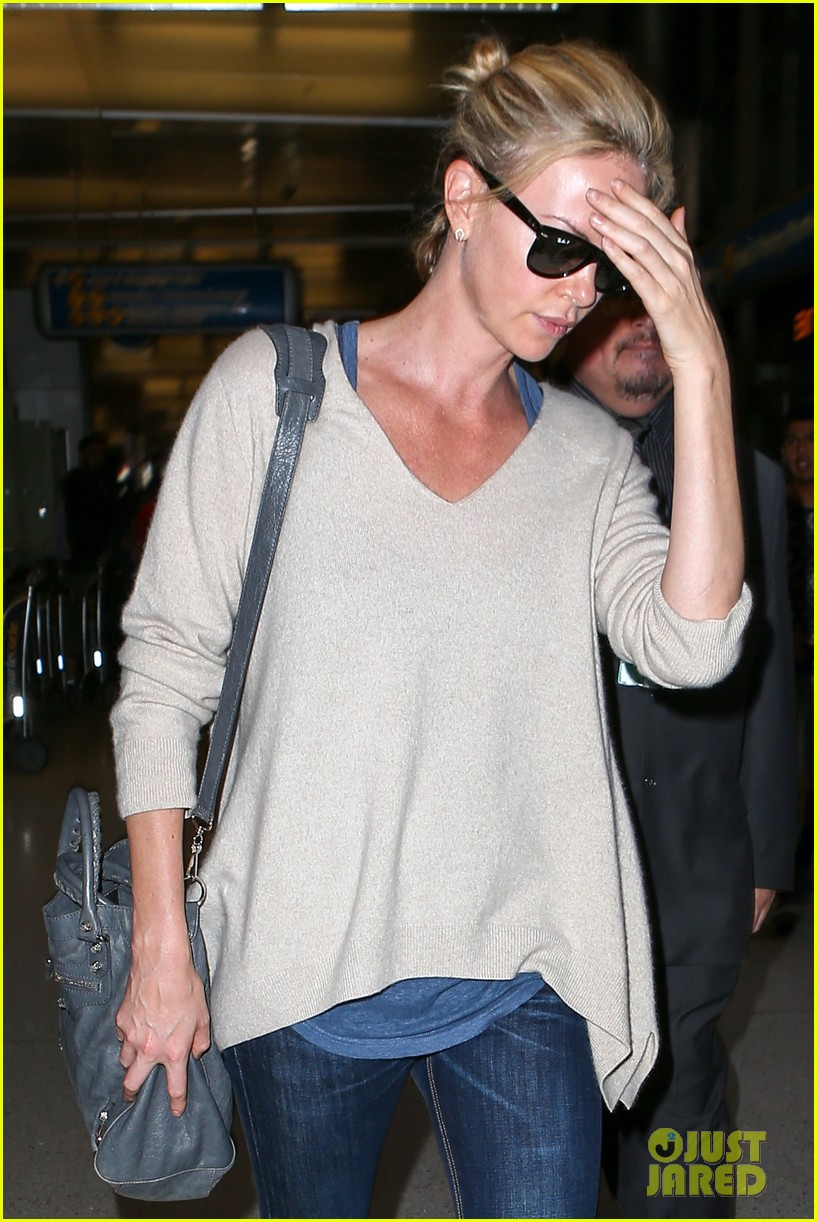 Charlize Theron Adopts Baby Girl Named August!: Photo ...