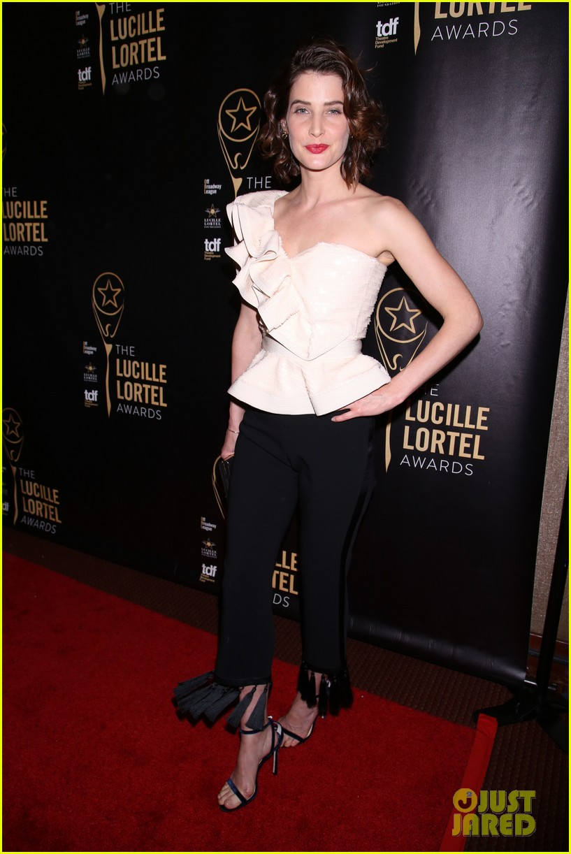jennifer morrison matthew perry cobie smulders step out for lucille lortel awards 013896616