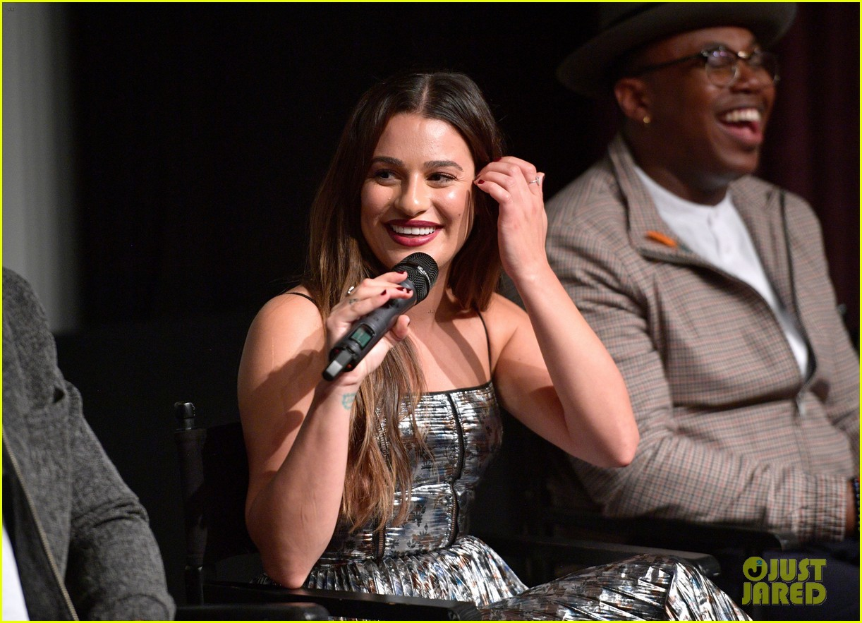 lea michele joins her the mayor co stars at screening in weho 023965554