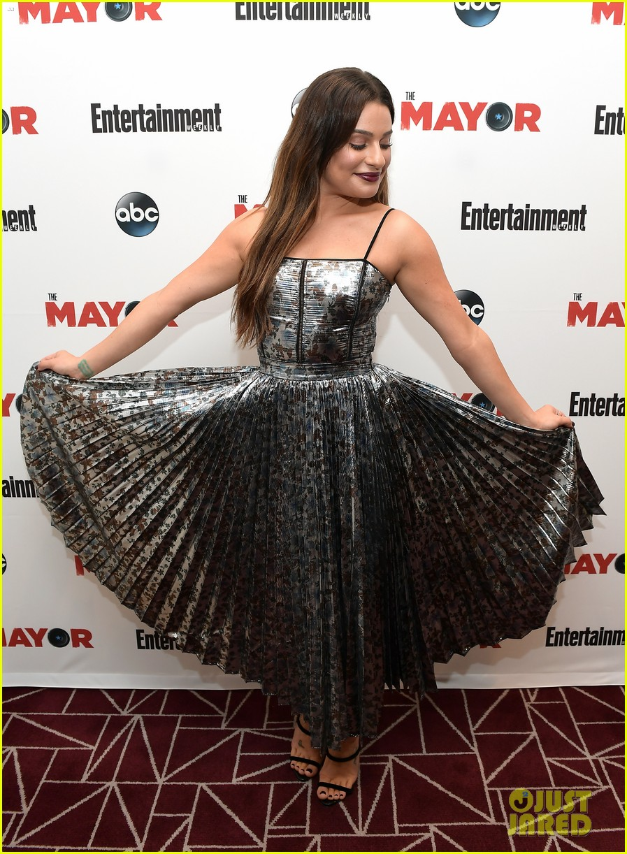 lea michele joins her the mayor co stars at screening in weho 043965556