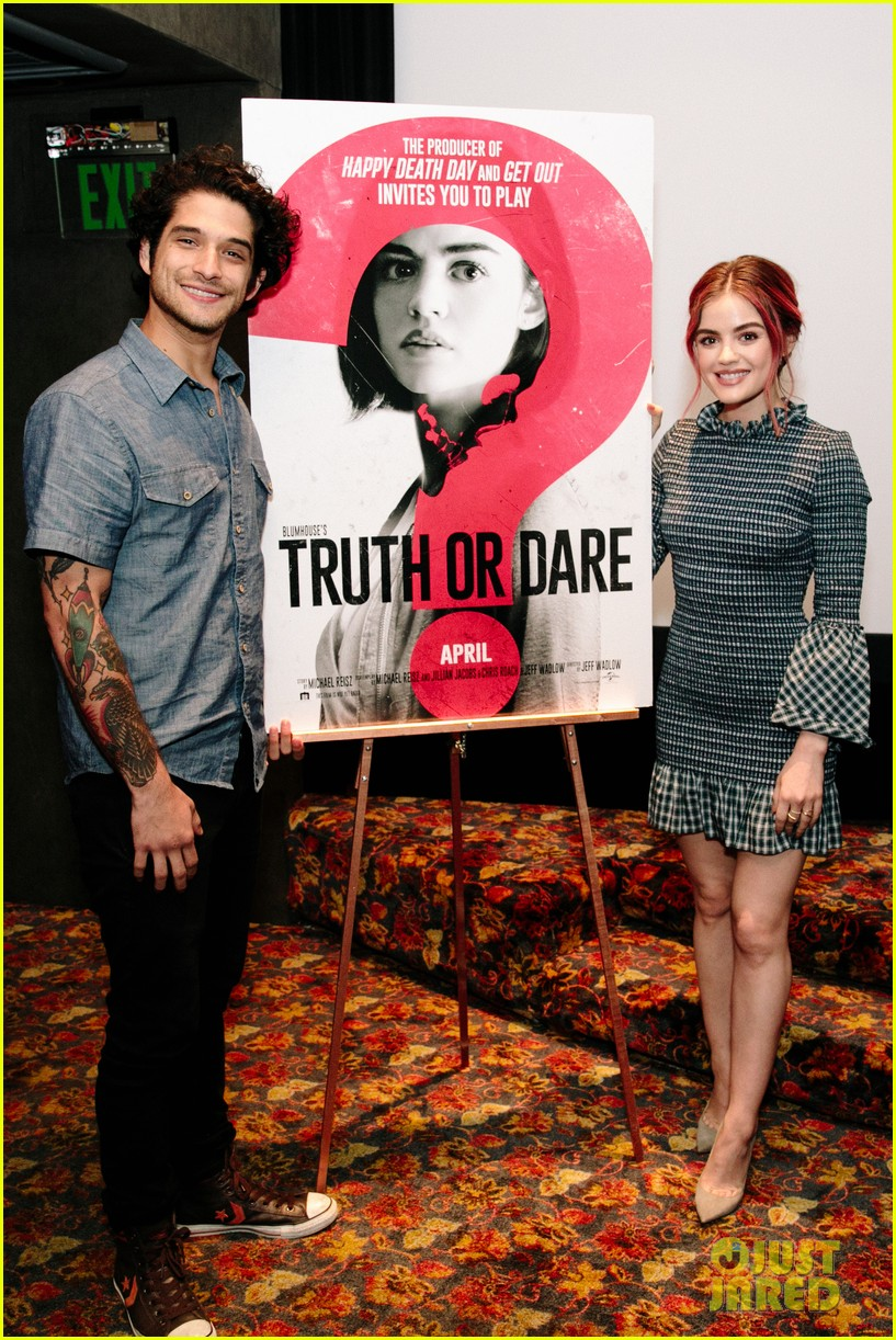 lucy hale tyler posey truth or dare premiere 054063751