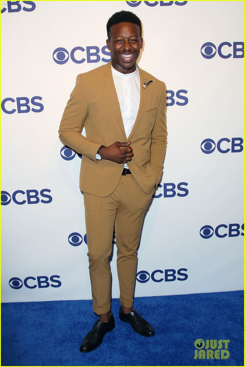 brandon micheal hall brings god friended me to cbs upfronts 054084418