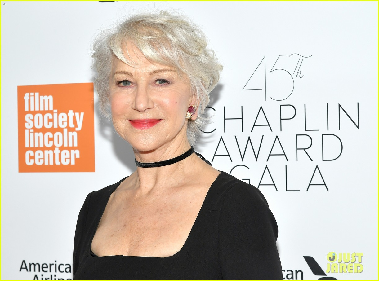 helen mirren supported by famous friends at chaplin award gala 134075050
