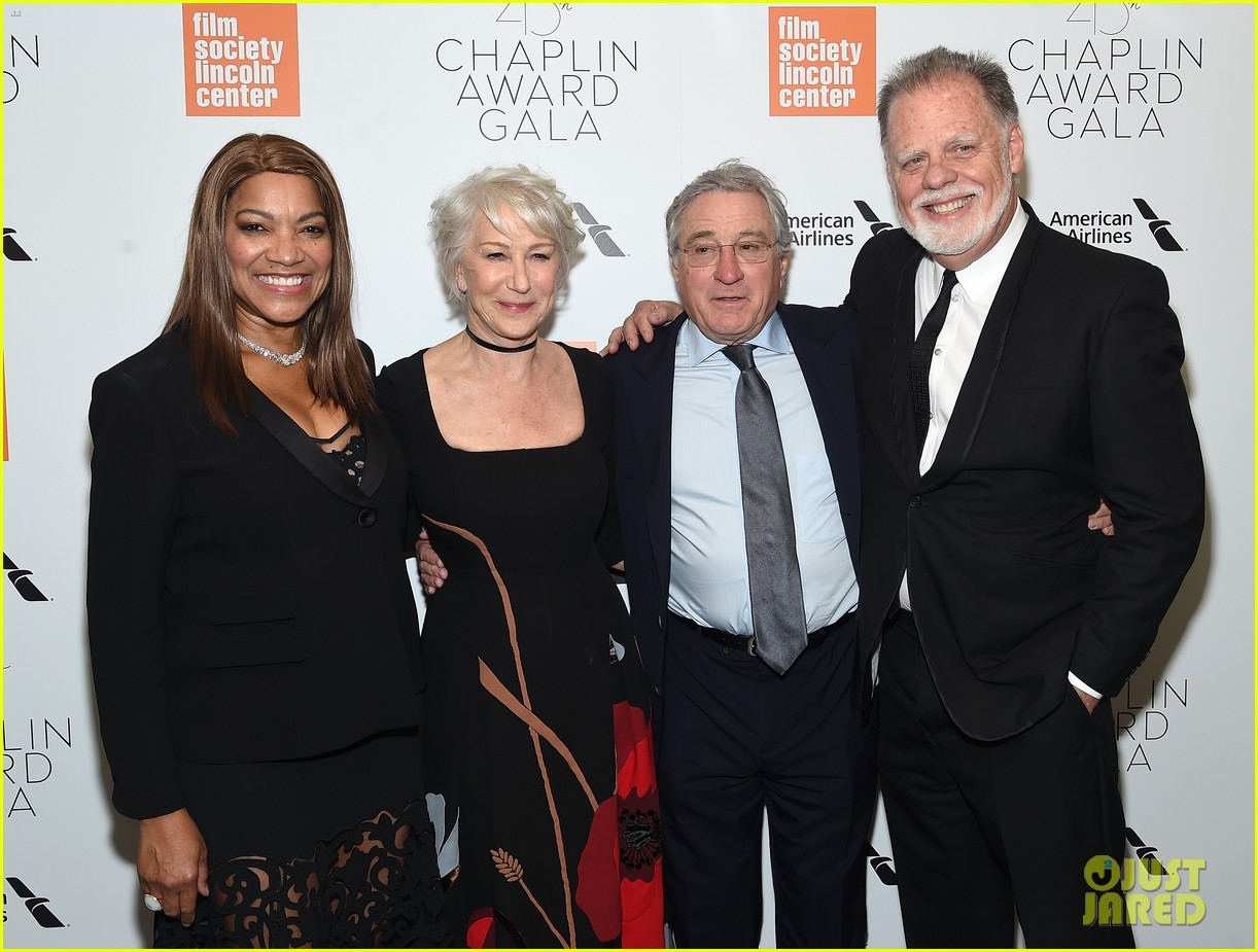 helen mirren supported by famous friends at chaplin award gala 244075061