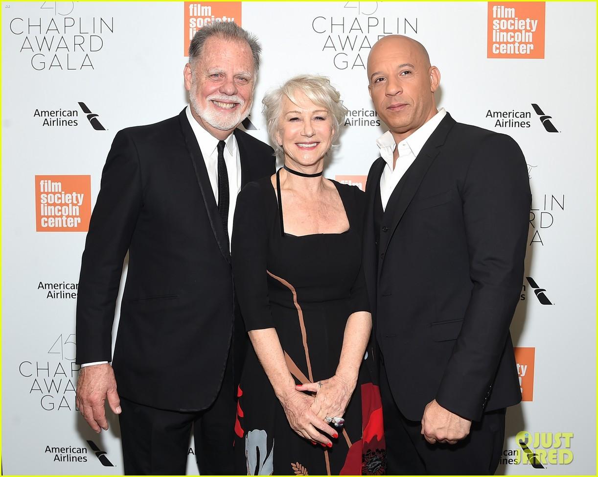 helen mirren supported by famous friends at chaplin award gala 254075062