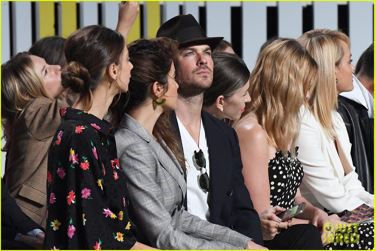 ian somerhalder joins nikki reed escada show 034143822