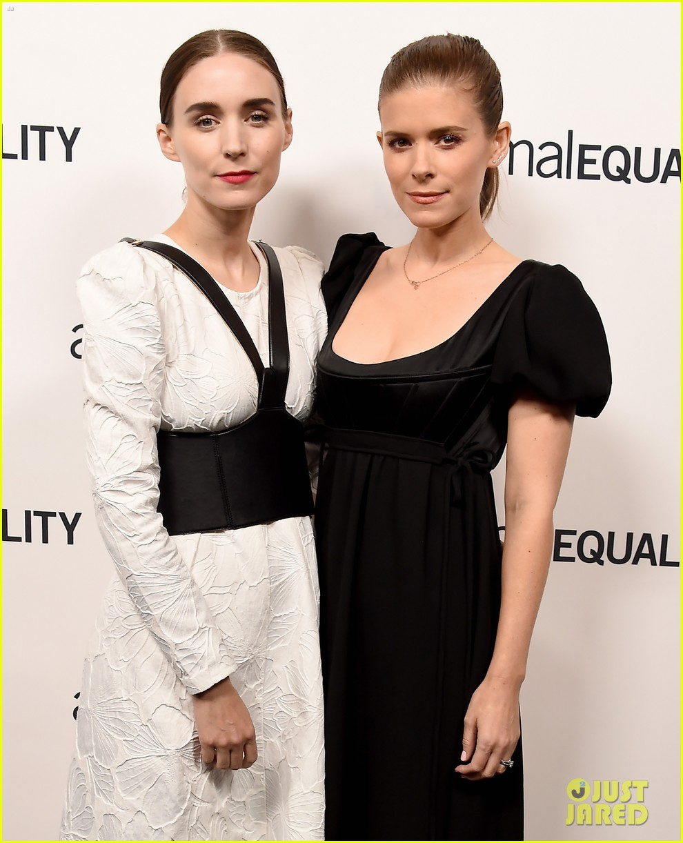 kate rooney mara step out for animal equality gala 024171479