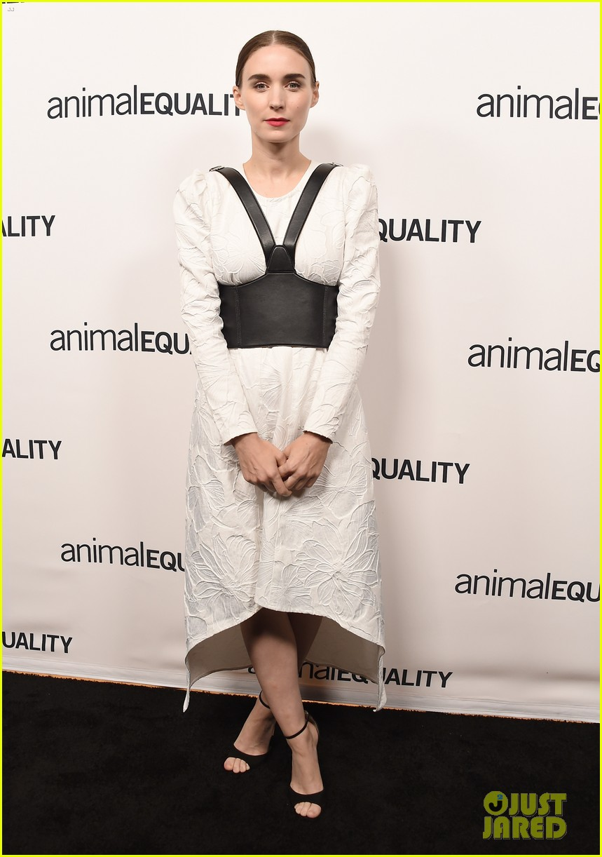 kate rooney mara step out for animal equality gala 044171481