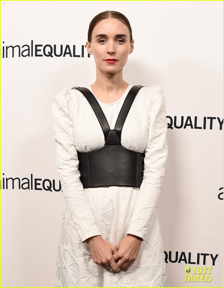 kate rooney mara step out for animal equality gala 114171488