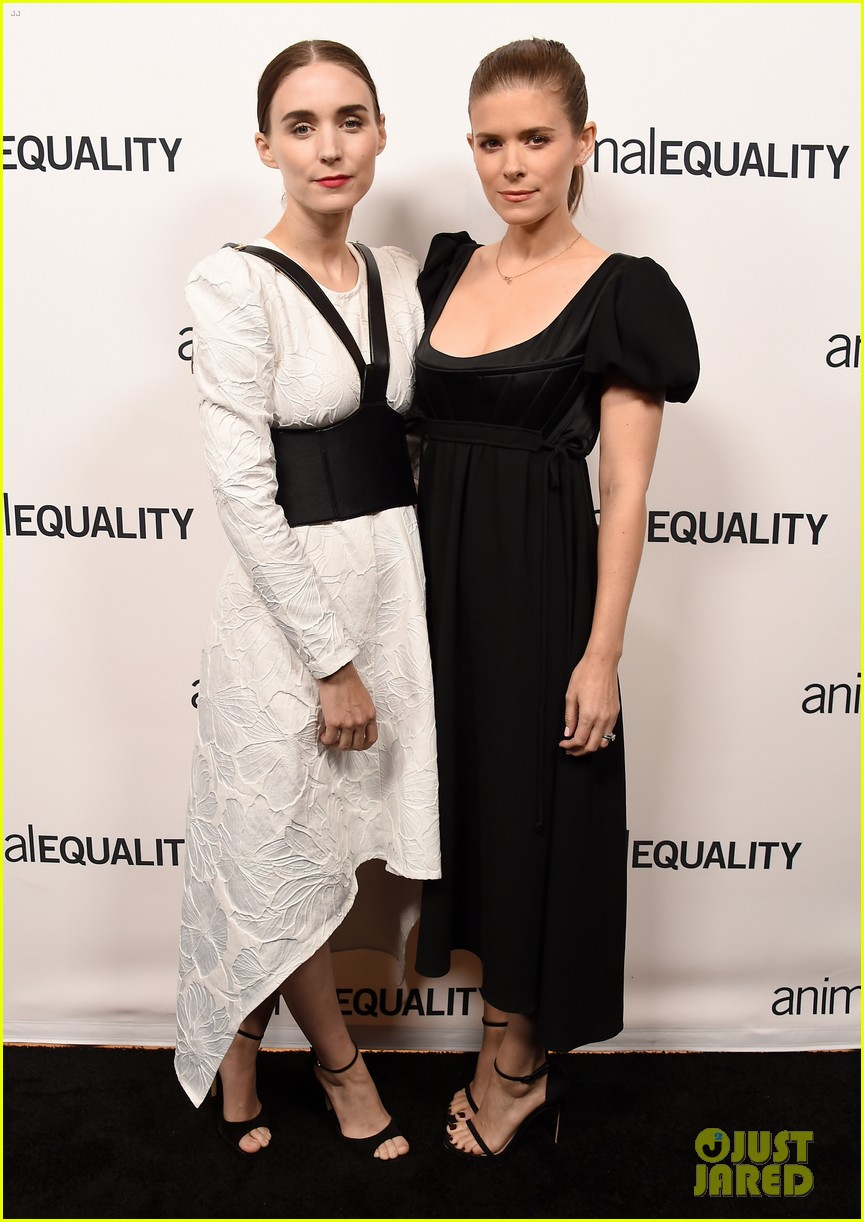 kate rooney mara step out for animal equality gala 144171491
