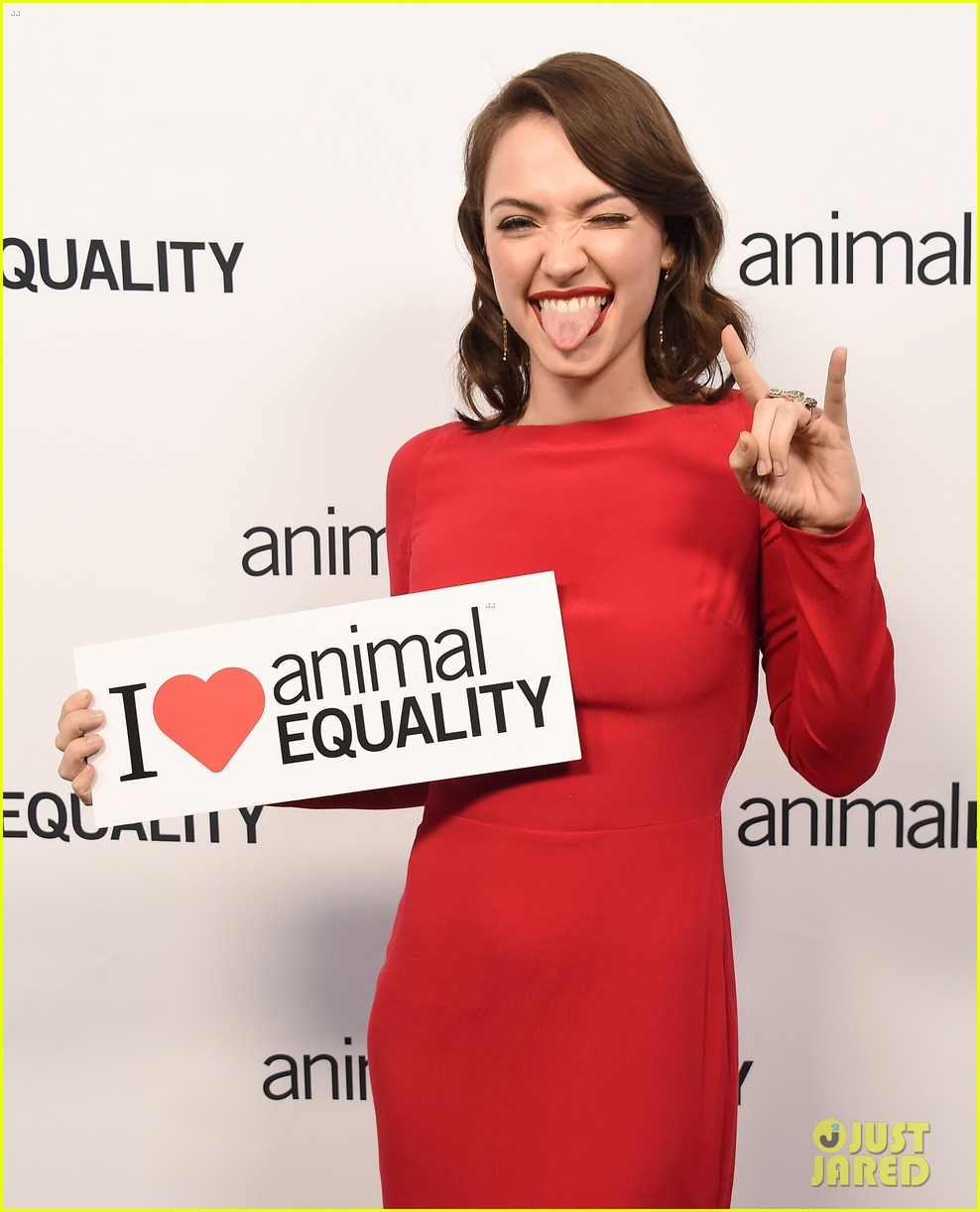 kate rooney mara step out for animal equality gala 214171498