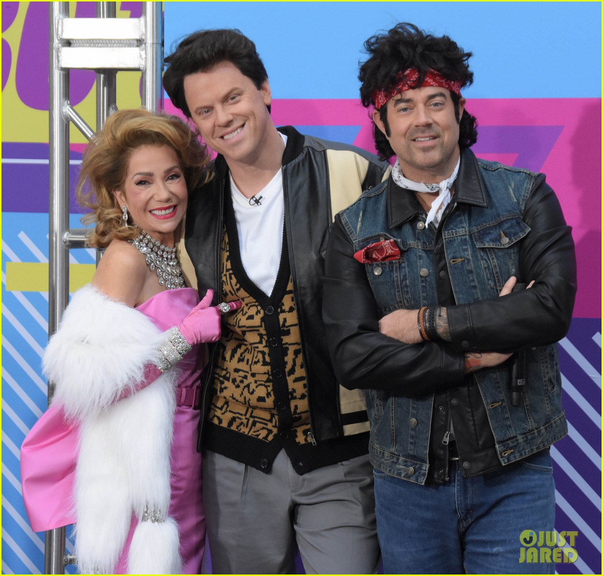 today show hosts show off their 80s inspired halloween costumes 064173862