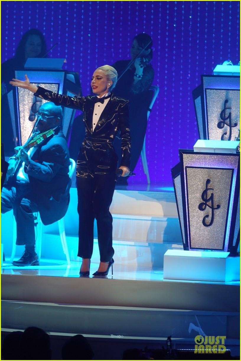 lady gaga jazz and piano opening night 124214528