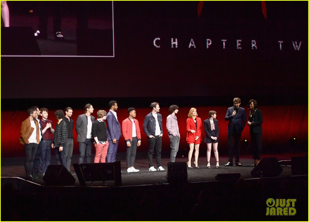 jessica chastain sophia lillis it cast cinemacon 034266360