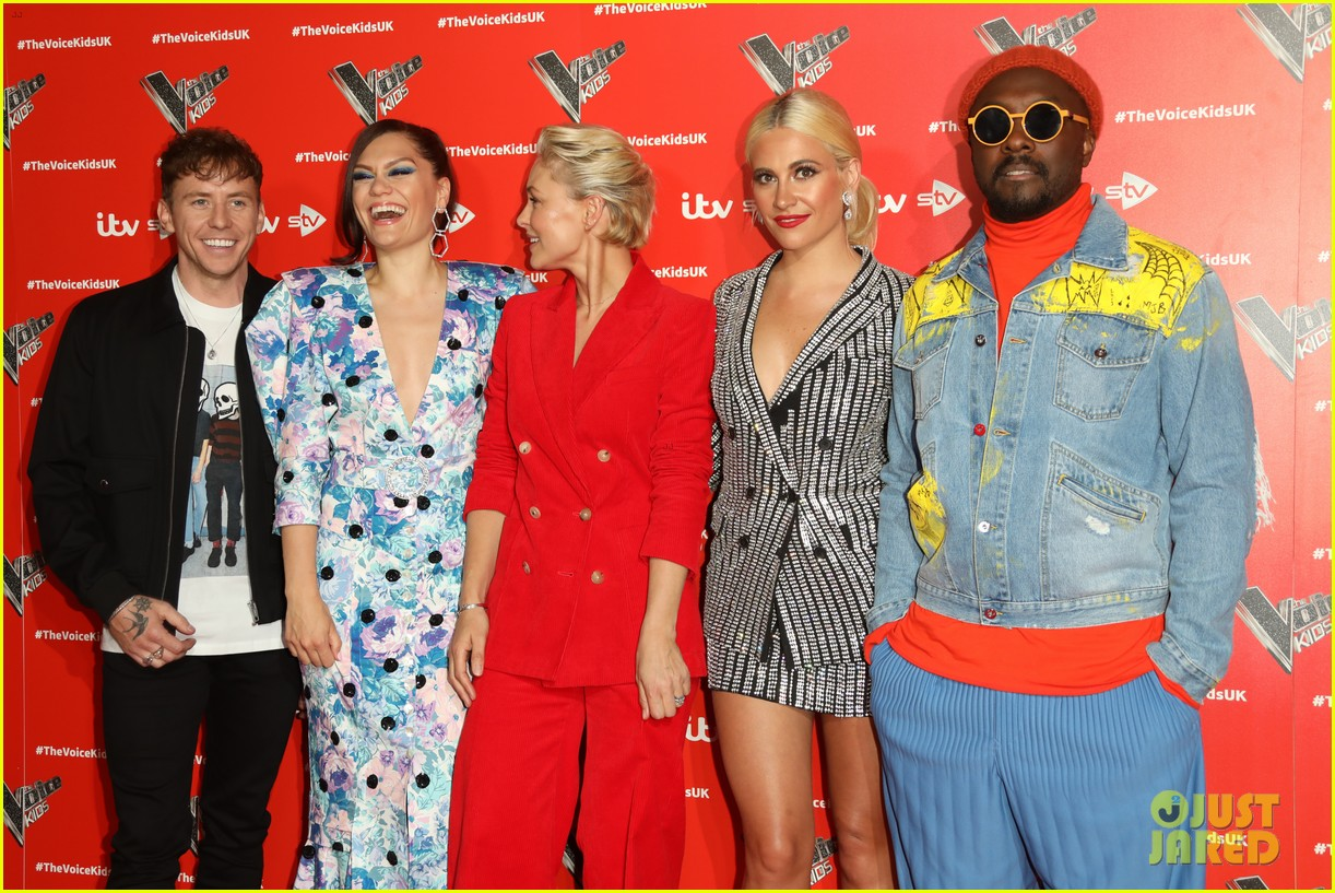 Jessie J Will I Am Celebrate The Voice Kids Season Three Photo 4305470 Danny Jones Emma Willis Jessie J Pixie Lott Will I Am Pictures Just Jared
