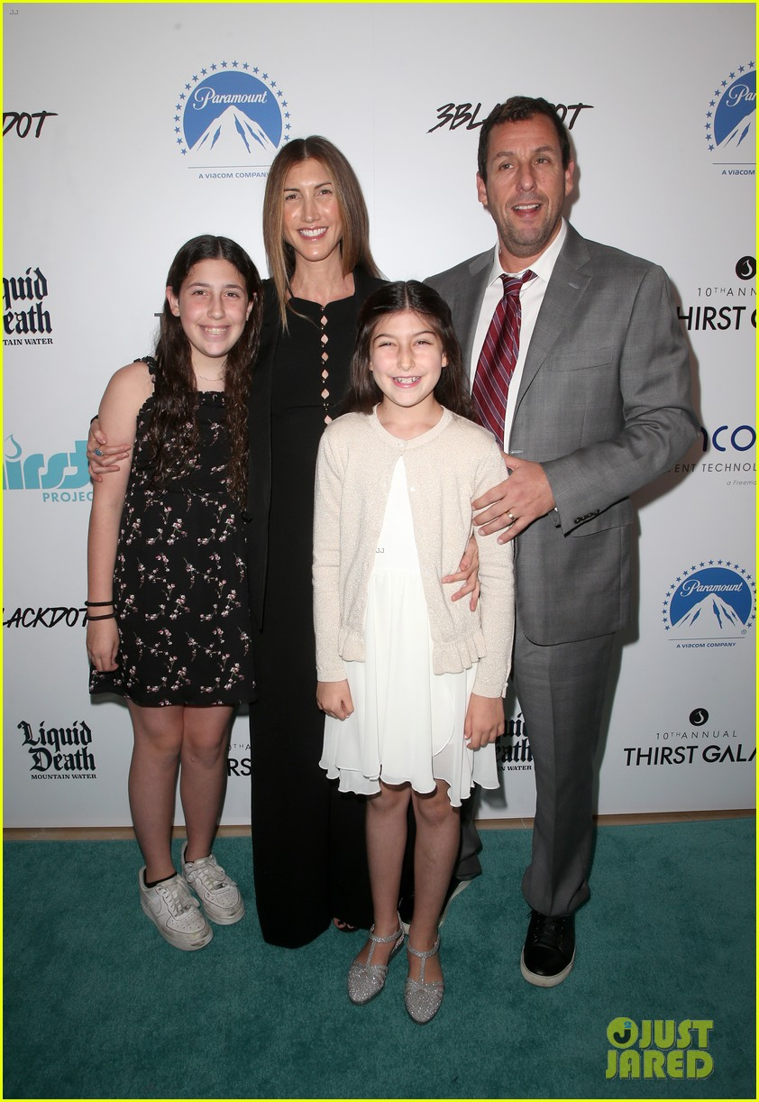 adam sandler family step out to support thirst gala 2019 014362636