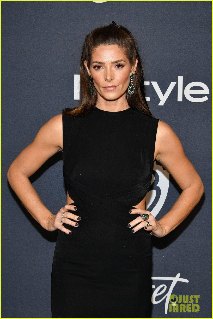 ashley greene hubby paul khoury couple up at golden globes after party 064411627