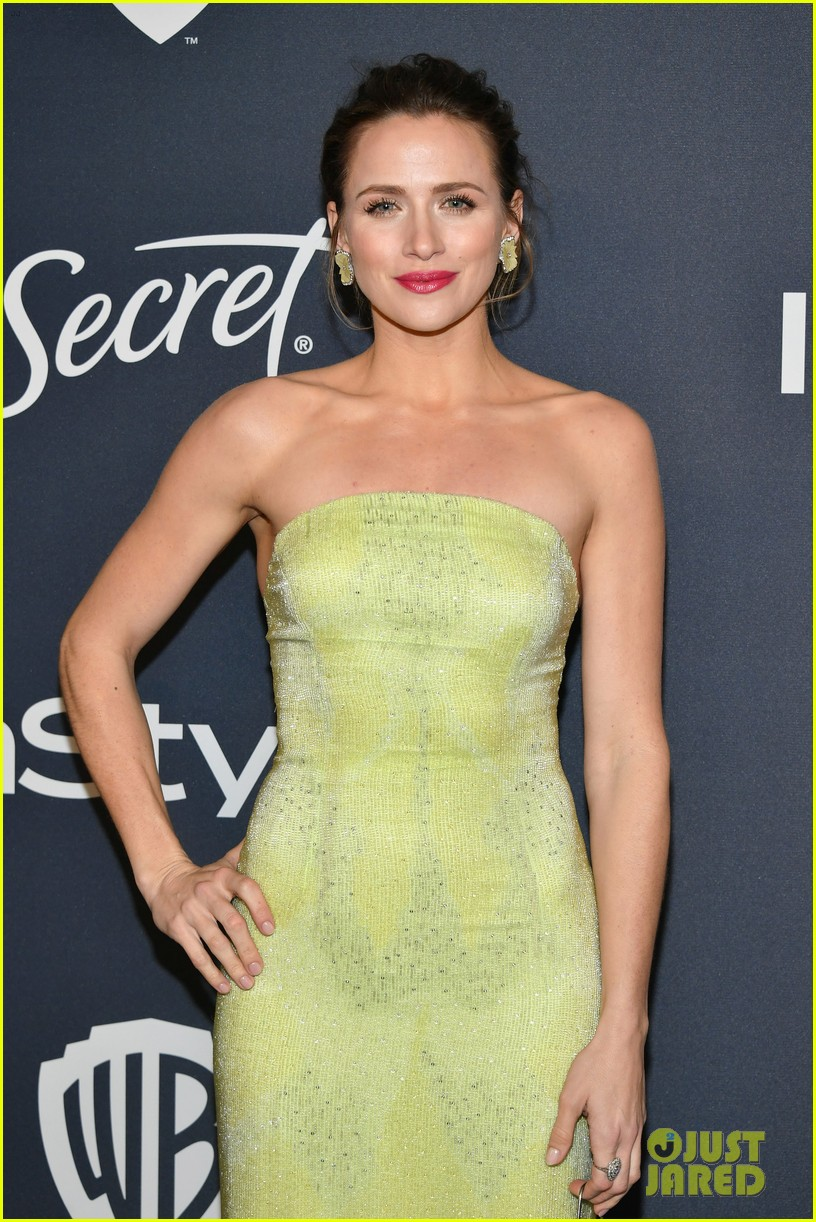 ashley greene hubby paul khoury couple up at golden globes after party 164411637