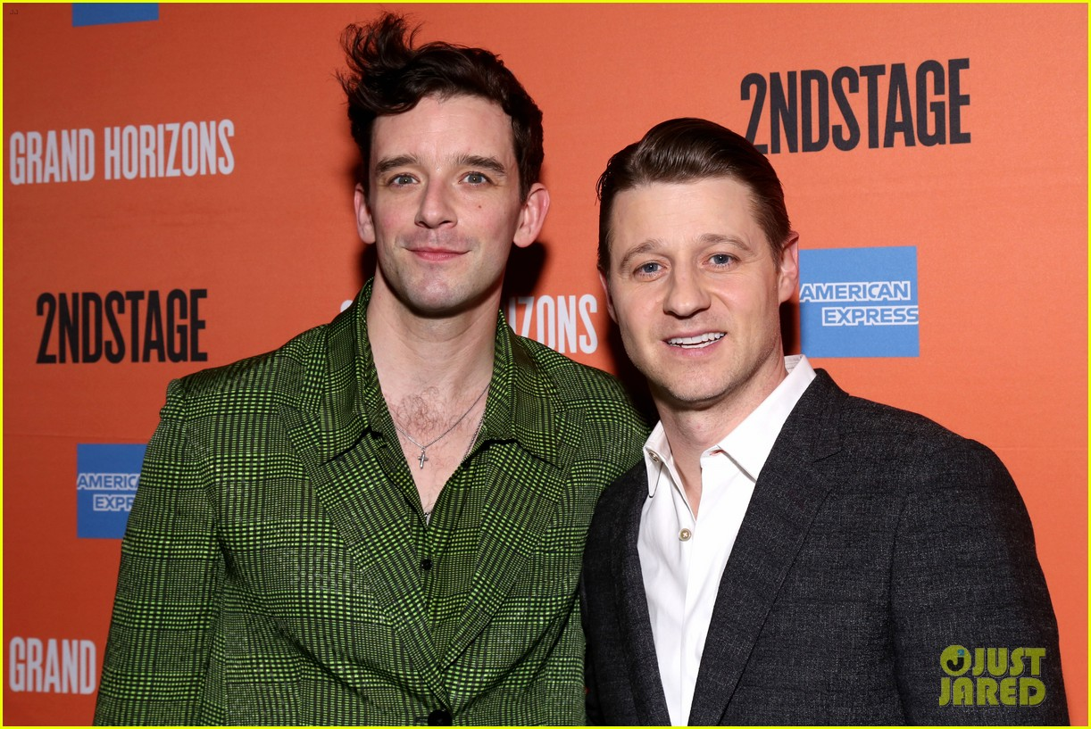 ben mckenzie gets support from wife morena baccarin at broadway debut in grand horizons 024421087