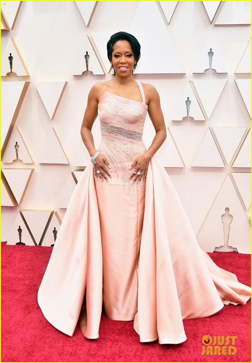 regina king oscars 2020 pink gown pics 084433470