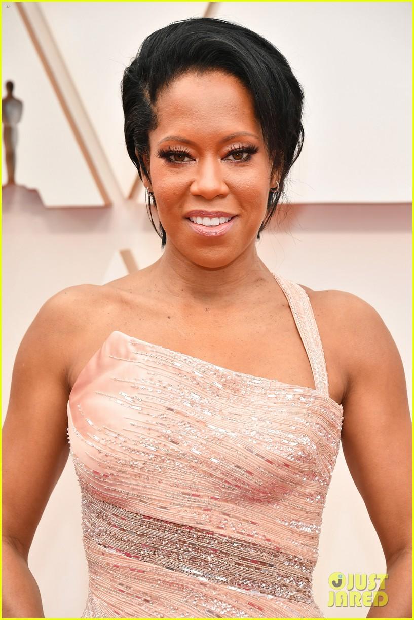 regina king oscars 2020 pink gown pics 094433471