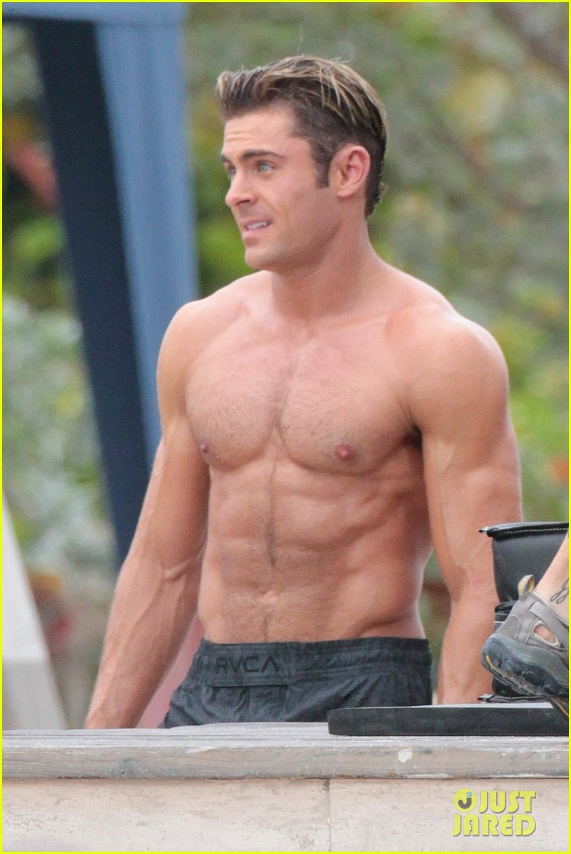 Zac Efron Will Be Shirtless in His Next Movie   InStyle.com