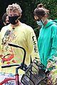 emily ratajkowski heads out on bike ride sebastian bear mcclard 02