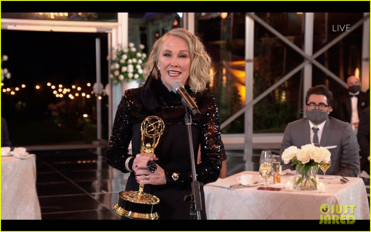 catherine ohara on moira rose winning emmy 034485689
