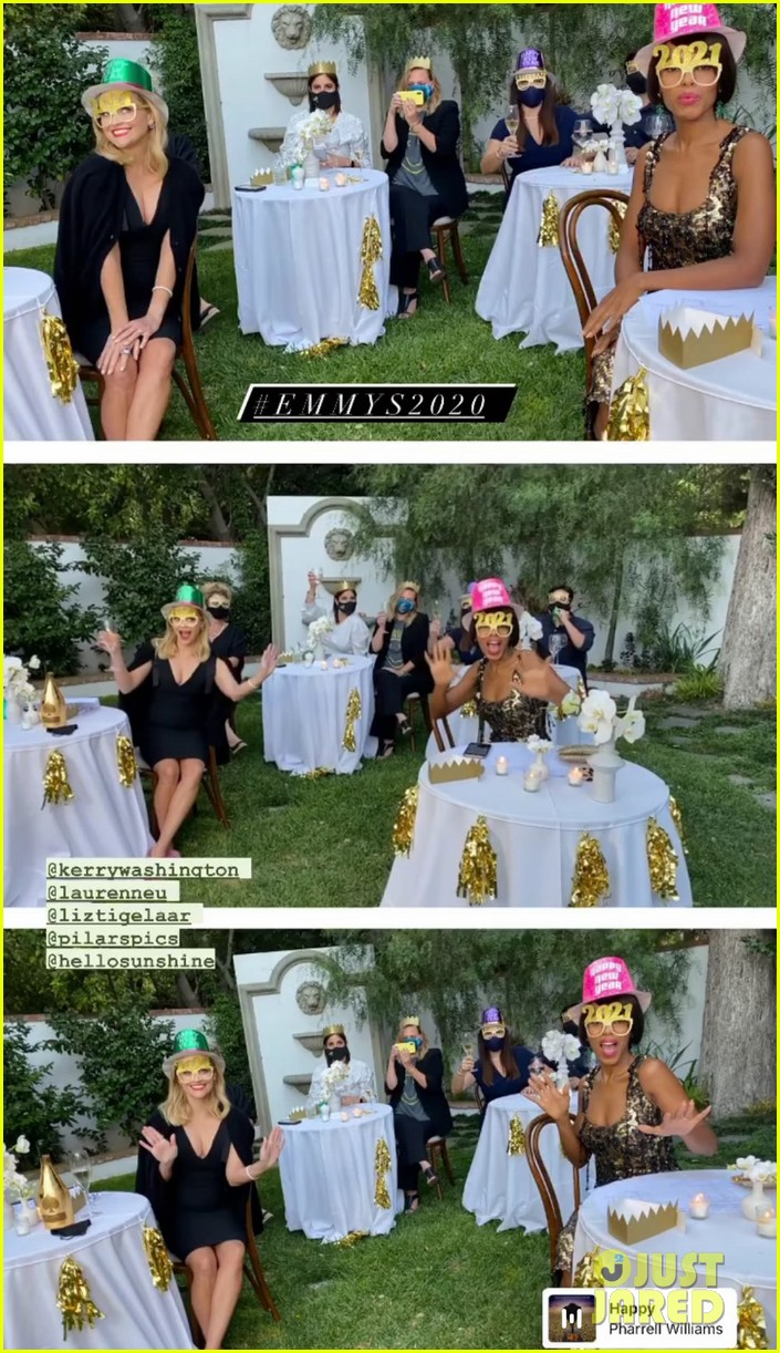 reese witherspoon new years eve emmys party 034485676