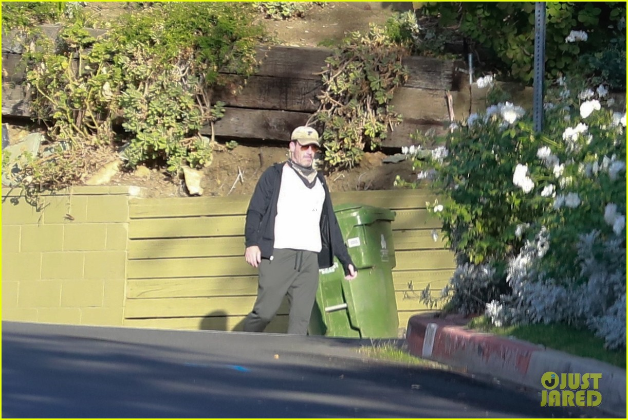 jon hamm anna osceola take his dog for a walk 234502443