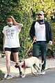 Photo 68 of Jon Hamm & Girlfriend Anna Osceola Take His Dog for a Walk in Los Feliz