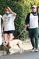 Photo 70 of Jon Hamm & Girlfriend Anna Osceola Take His Dog for a Walk in Los Feliz