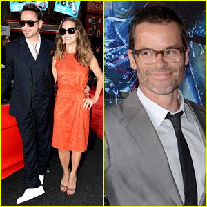 Robert Downey Jr. & Guy Pearce: 'Iron Man 3' Premiere!