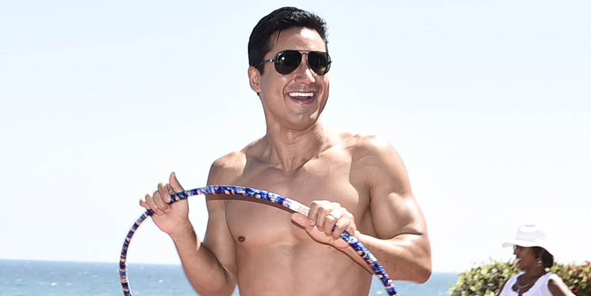 These 10 Hot Shirtless Pictures of Mario Lopez Will Leave