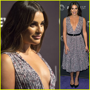 Lea Michele Looks Gorgeous With 'The Mayor' Cast at PaleyFest Fall TV Previews!