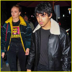 Joe Jonas & Sophie Turner Enjoy a Date Night in WeHo!