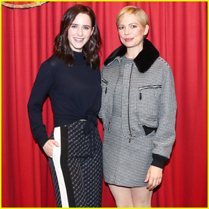 Rachel Brosnahan & Michelle Williams Kick Off Holiday Light Show With Saks Fifth Avenue