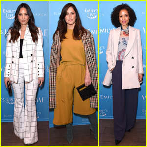 Olivia Munn, Minka Kelly & More Join Forces at Emily's List Pre-Oscars Event!
