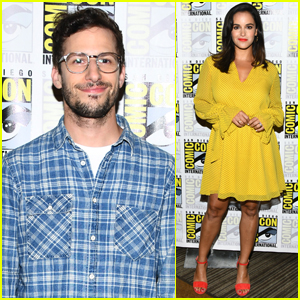 Andy Samberg & Melissa Fumero Bring 'Brooklyn Nine Nine' to Comic-Con 2019!