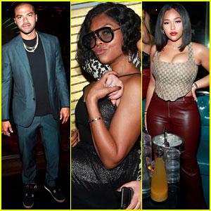 Jesse Williams, Taraji P. Henson, & Jordyn Woods Team Up for Diversity in Hollywood Event