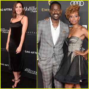 Mandy Moore & Sterling K. Brown Celebrate 'This Is Us' Ahead of Emmys 2019
