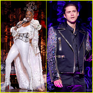 Aaron Tveit & Billy Porter Perform During The Blonds' NYFW Show on 'Moulin Rouge' Stage!