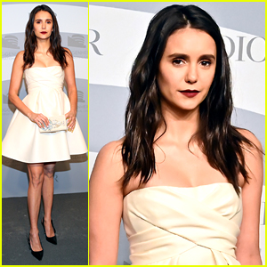 Nina Dobrev Steps Out for Guggenheim International Gala After Scary Hospital Visit