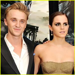 Emma Watson & Tom Felton Reunite with 'Harry Potter' Co-Stars!
