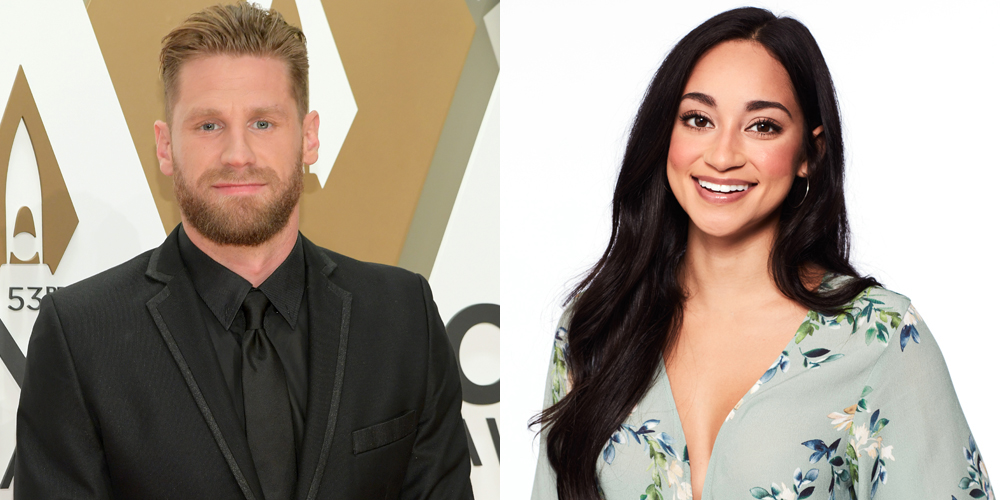 Victoria Fuller faces ex Chase Rice on Bachelor date