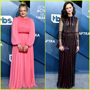 Elisabeth Moss, Alexis Bledel, & 'Handmaid's Tale' Stars Attend SAG Awards 2020 as Nominees!