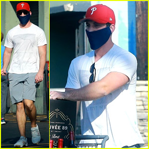 Miles Teller Stocks Up on Wine With a Friend