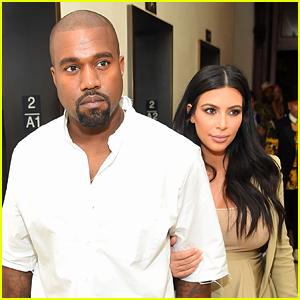 Kim Kardashian Flies To Wyoming To Visit Husband Kanye West